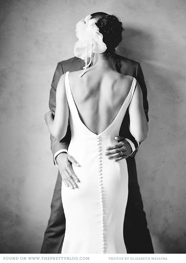 Vestidos de novia espalda espectacular