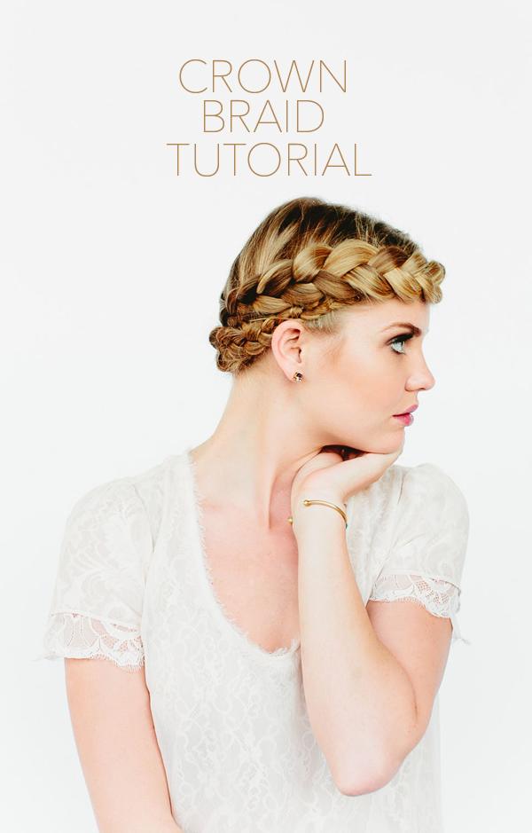 tutorial corona trenza peinado