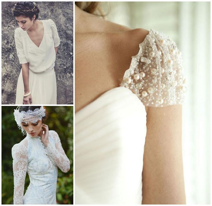 tendencias boda 2014 vestidos de novia con mangas 6