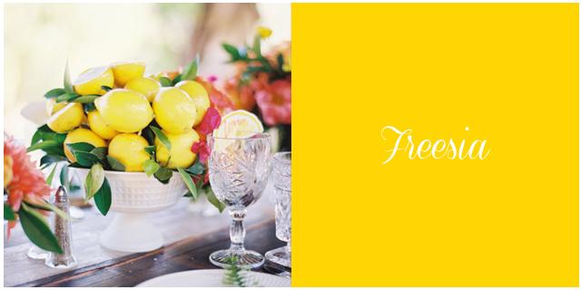 Colores boda primavera verano 2014 freesia