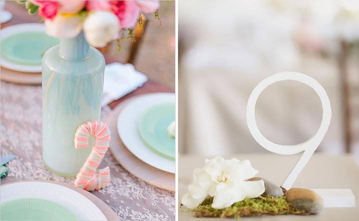 Numero de mesa para tu boda - Paris Berlín Wedding Planners Barcelona