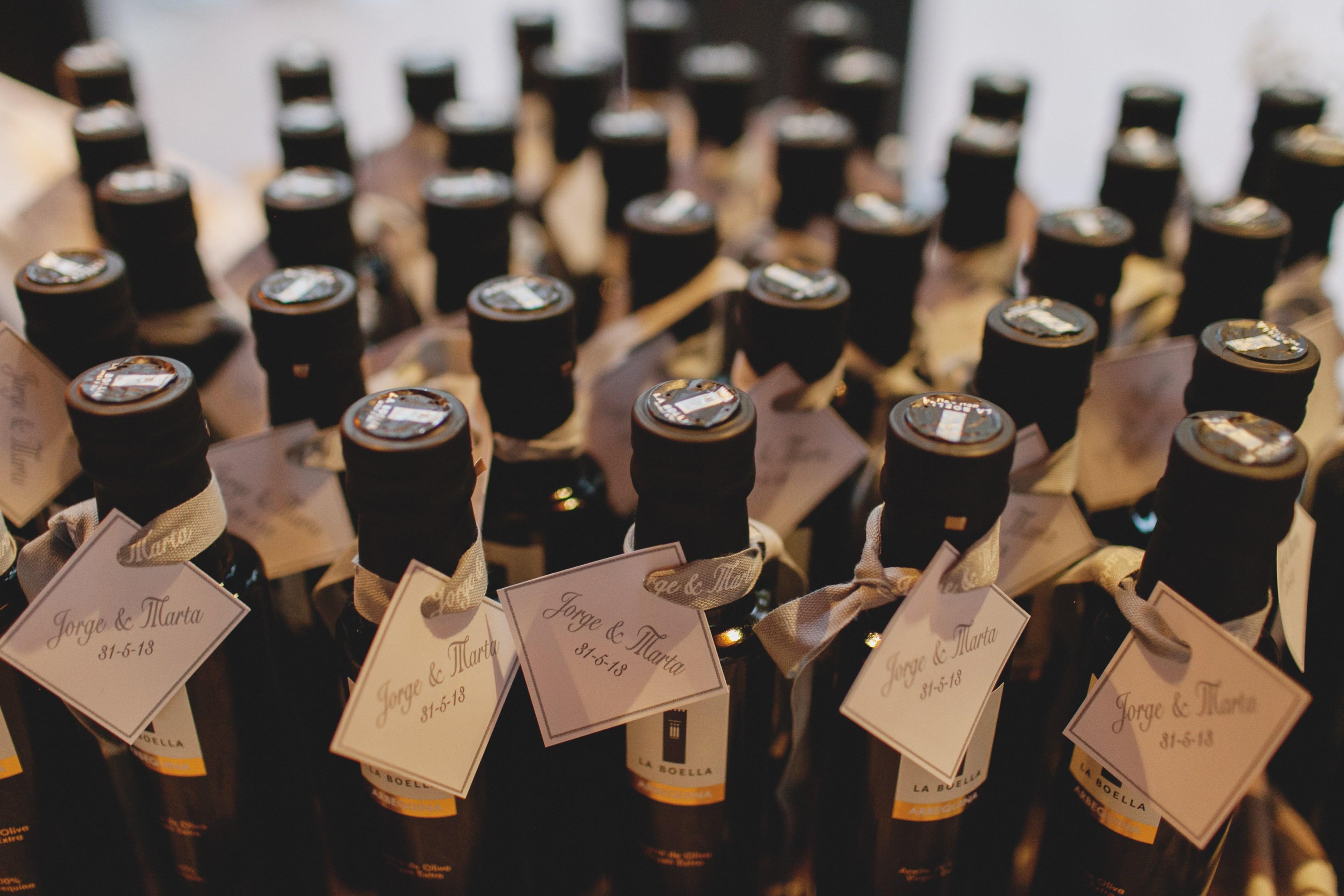 Los detalles de la boda de marta y jorge en tarragona for Para invitados