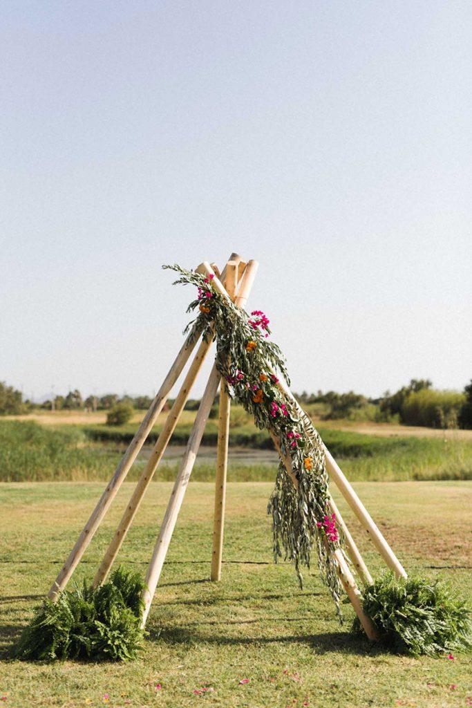 boda tipi ceremonia boho