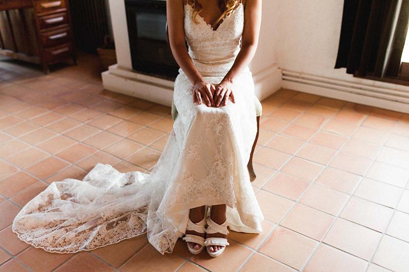 vestido novia bohemio