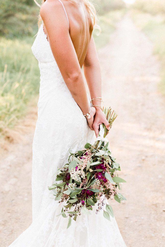 ramo novia bohemio