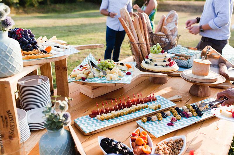 buffet de quesos boda