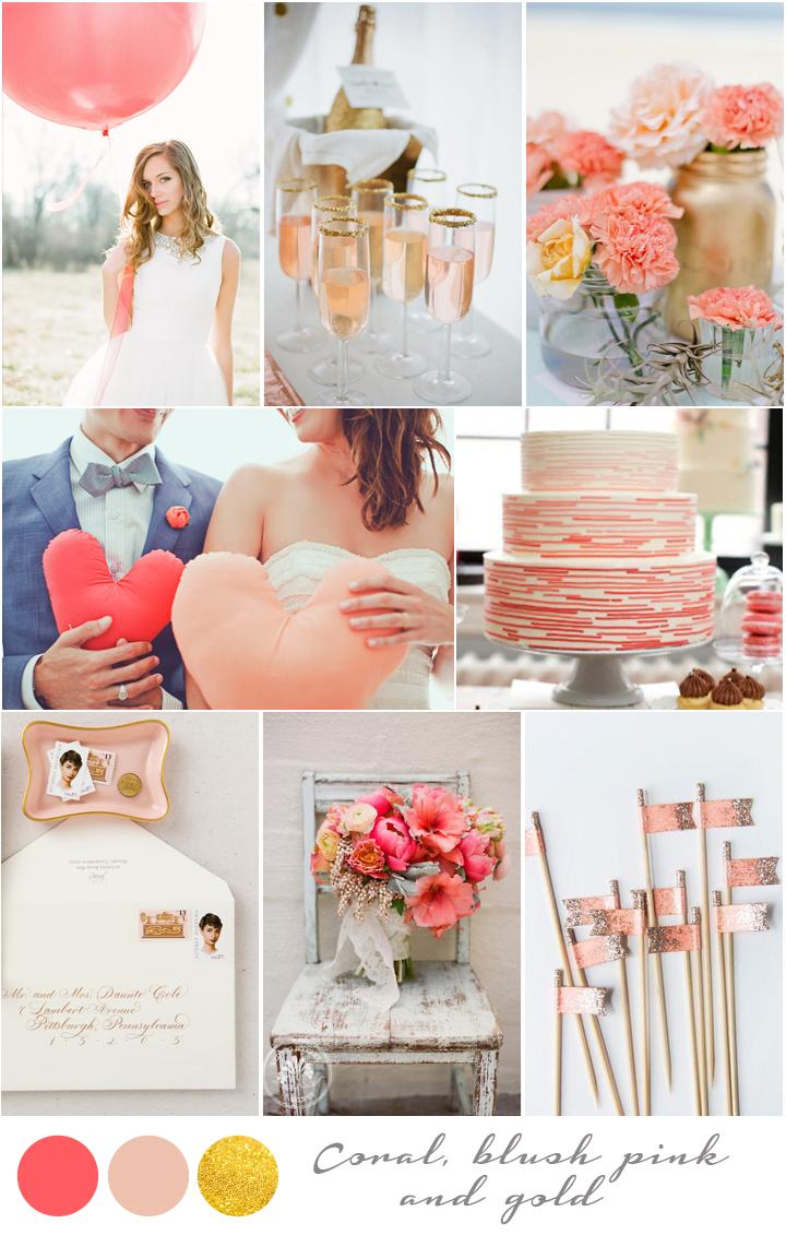 colores para tu boda una combinacin moderna romntica y fresca