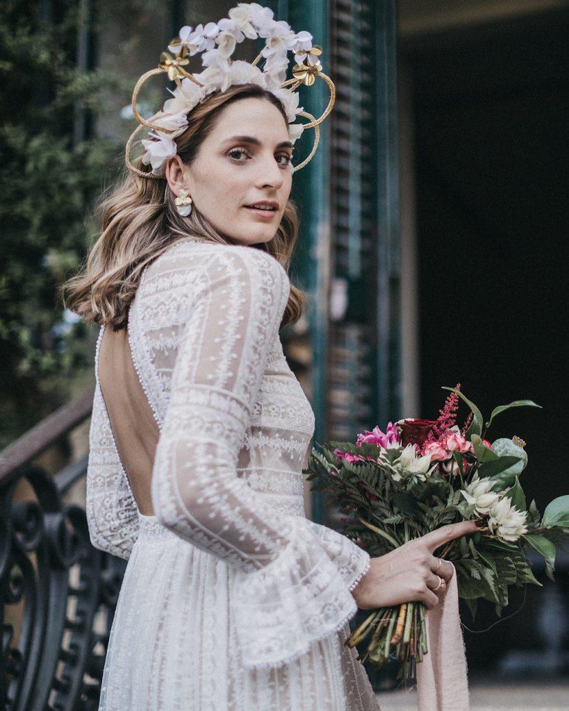 tiara novia verbena tocados