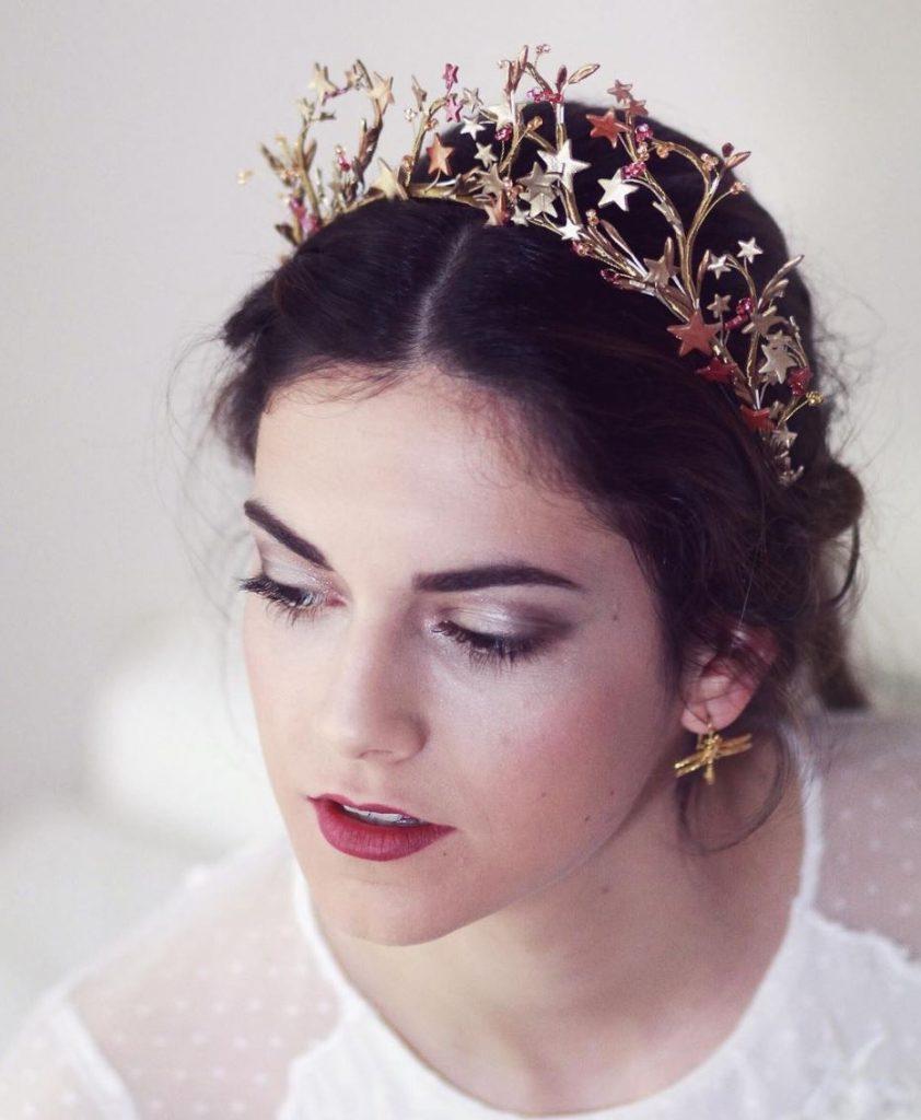 tiara novia india tocados