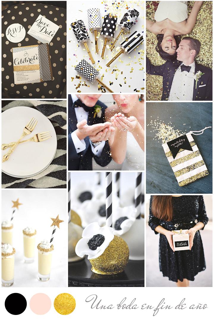 inspiración boda fin de año