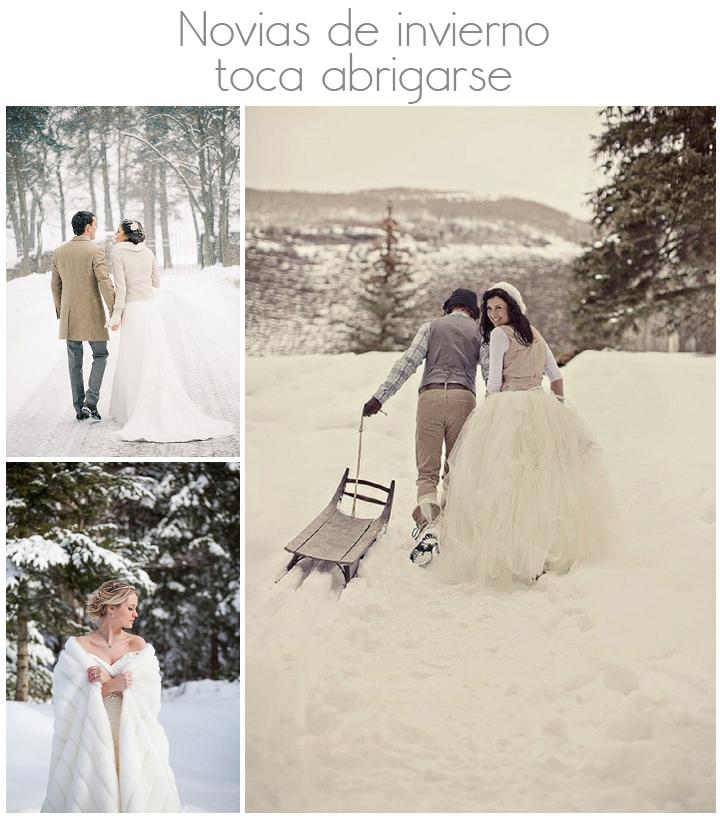 looks novia invierno boda