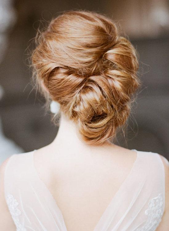 peinado novia 2019 recogido