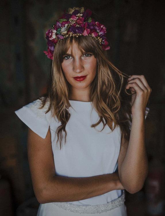 peinado novia 2019 pelo suelo