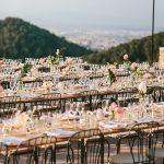 mesa alargada boda