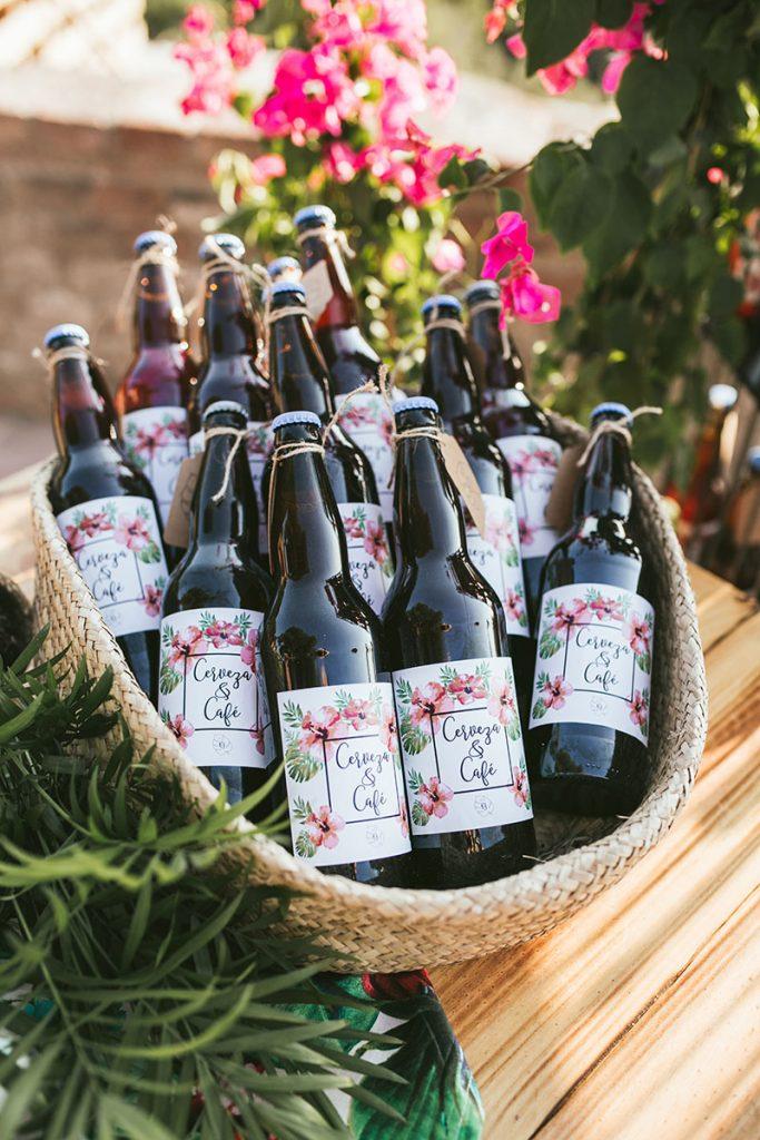 regalo boda cerveza