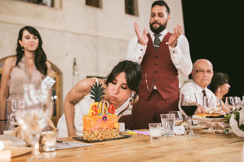 cumpleaños novia