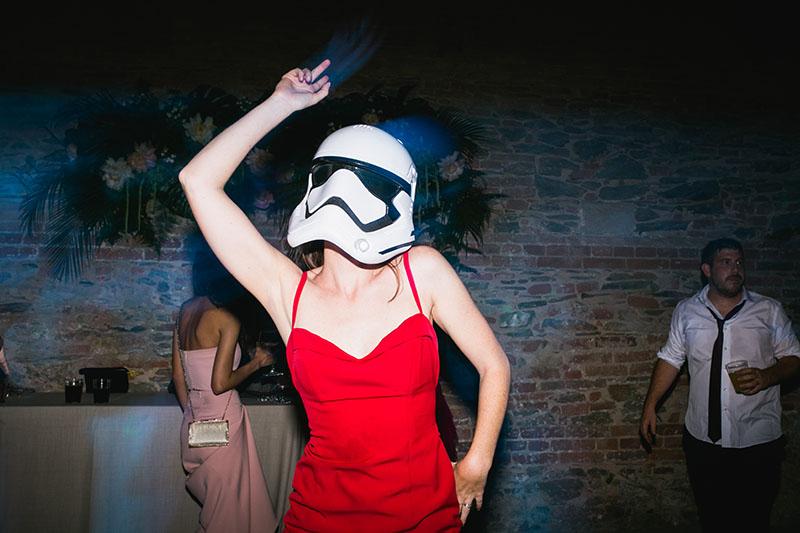 Baile mascara boda