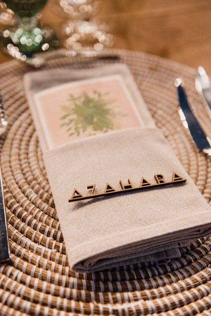 Marcasitio madera boda nombre