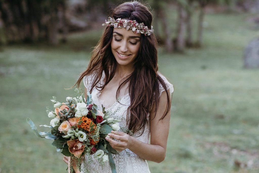tocado joya novia invitada