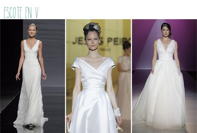 vestidos novia mujer mucho pecho escote v