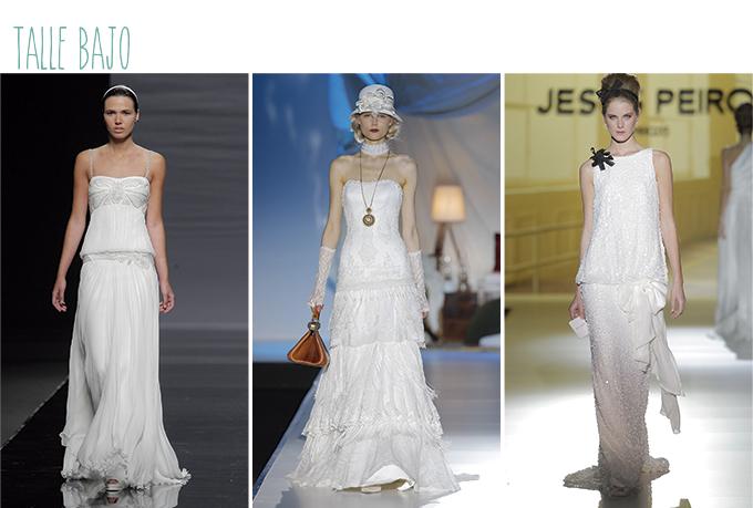 vestidos novia talle bajo mujer alta